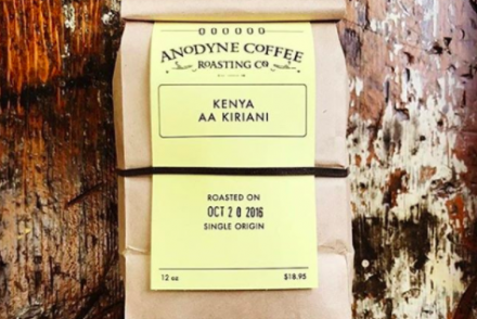Kenya AA Kiriani roasted by Anodyne