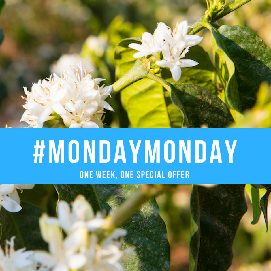 Enjoy Genuine Origin Monday–Monday specials on green coffee!