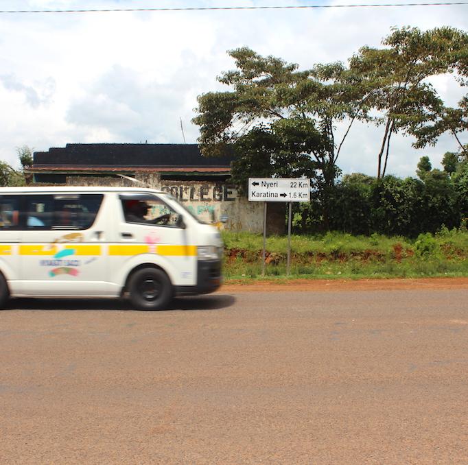 On the way to Kenyan coffee.