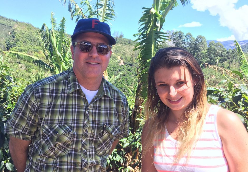 Coffee producer Carol Gutierrez in Tarrazú, Costa Rica.