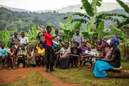 Working with Uganda Coffee Farmers